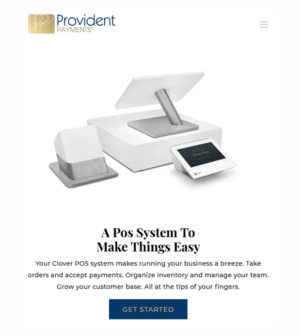 Affordable Web Design Company CalTech Web built a website for Provident Payments.