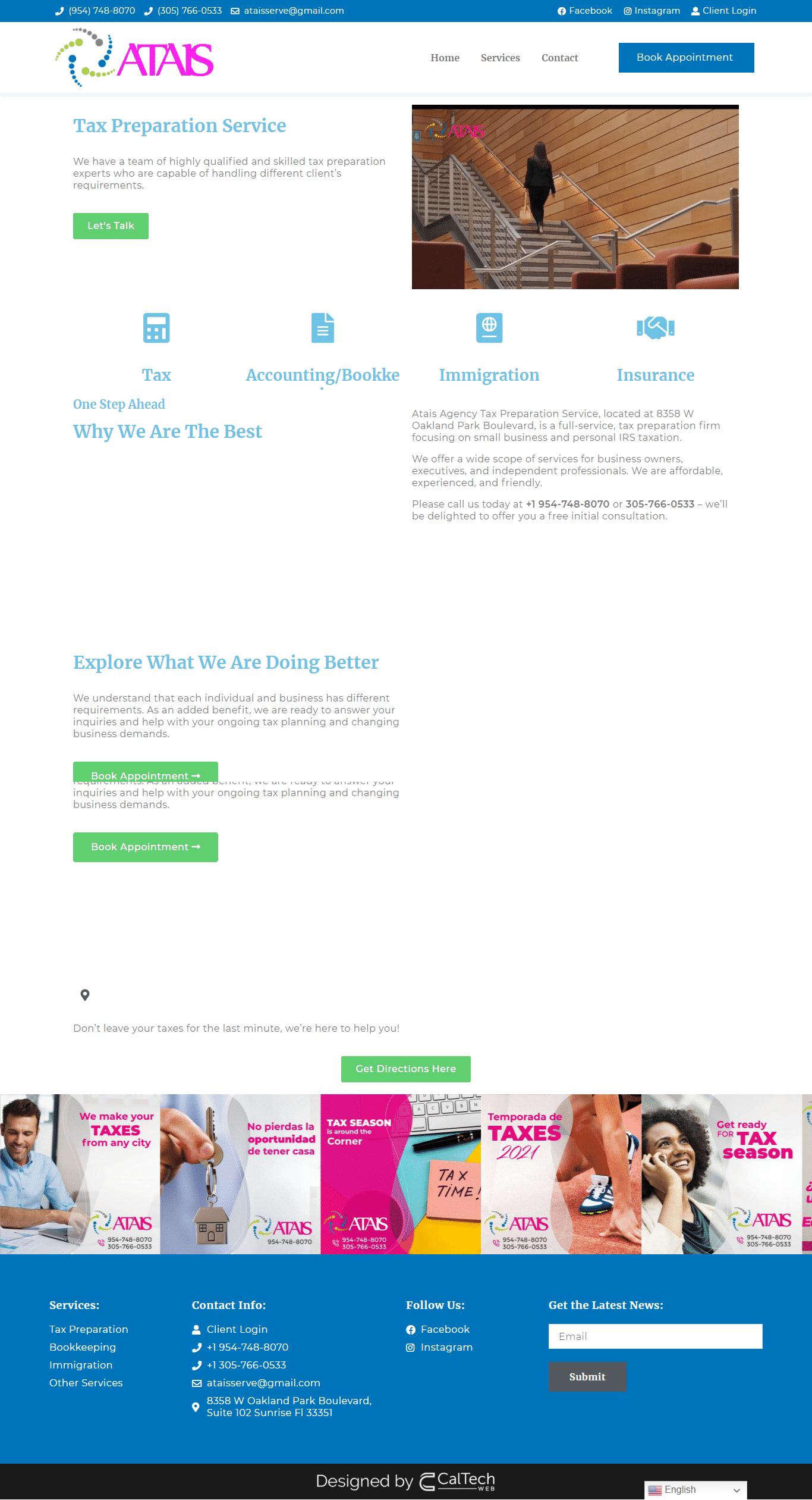 screenshot ataisagency